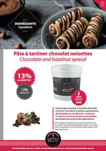 Fiche - Pâte à Tartiner chocolat noisettes
